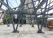 structura metalica hala piata 20